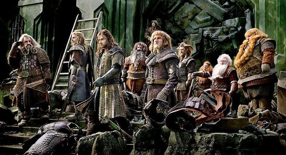 Hobbit 3 törpök