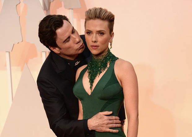 John Travolta Oscar 2015-1