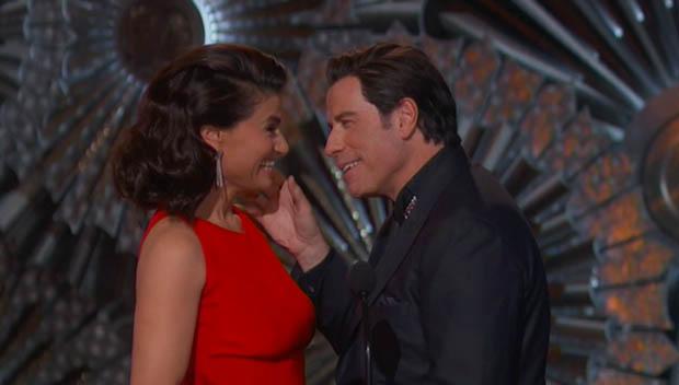 John Travolta Oscar 2015-2