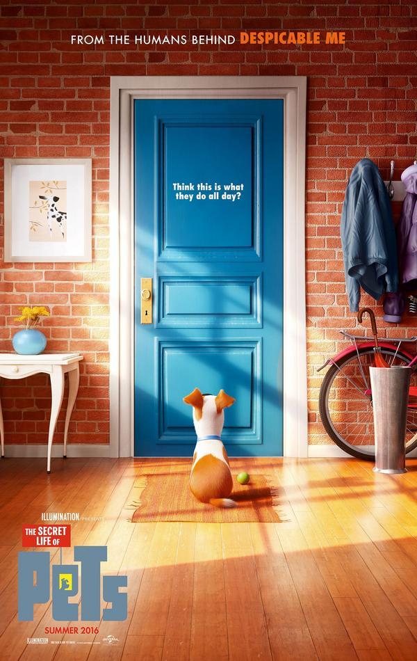 Secret Life of Pets trailer és poszter