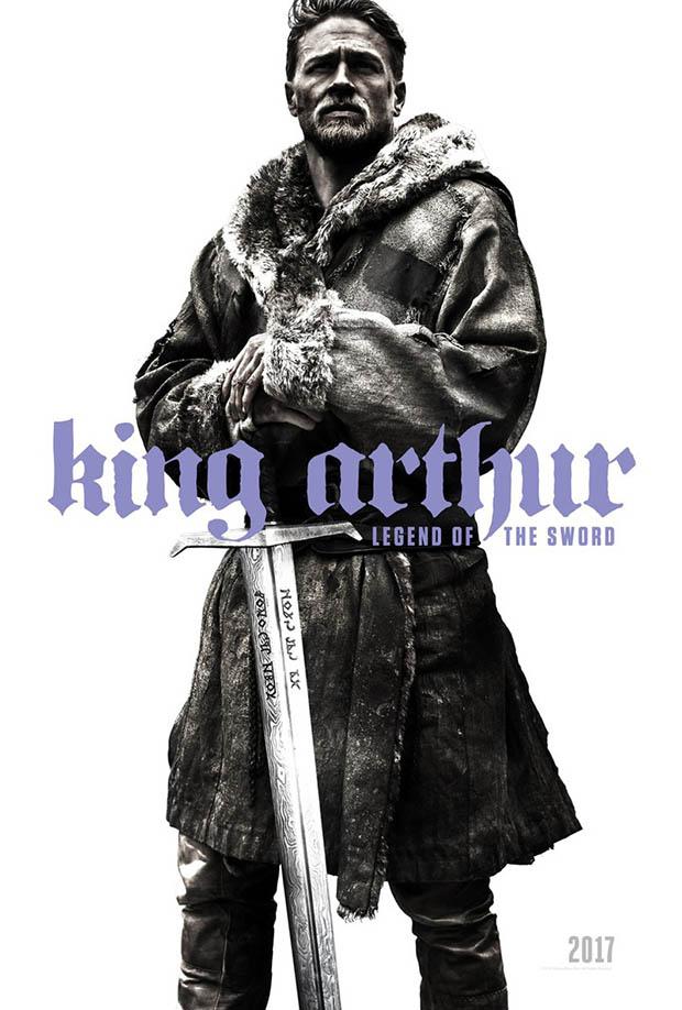 SDCC King Arthur Legend of the Sword poszter
