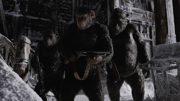 War for the Planet of the Apes előzetes is!