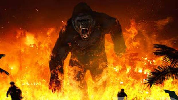 Tüzes koncepciókép az új Konghoz