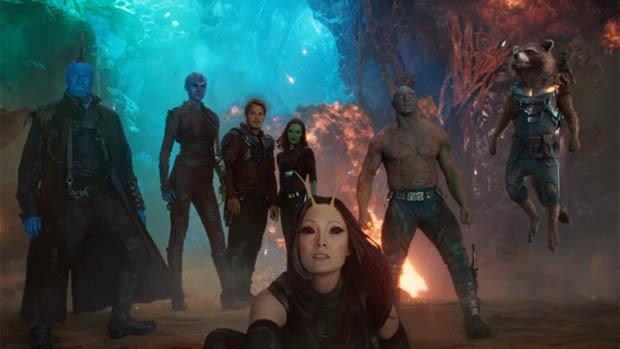 A Galaxis őrzői 2 a tévében plusz a kulisszák mögött