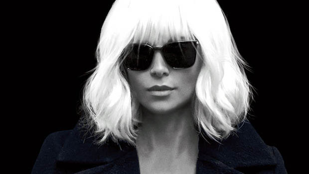 Atomic Blonde poszter Charlize Theronnal