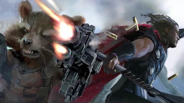 Egy rakat Avengers: Infinity War kép és videó
