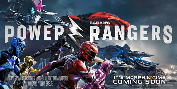 Power Rangers nemzetközi előzetes