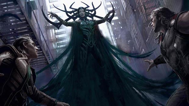 Új Thor: Ragnarok koncepcióképek és videó
