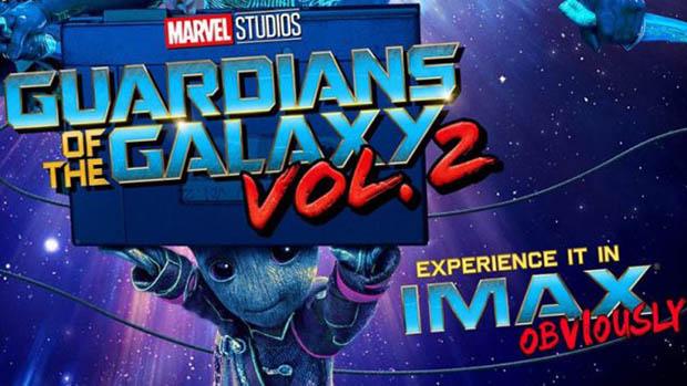 A Galaxis őrzői 2 IMAX poszter