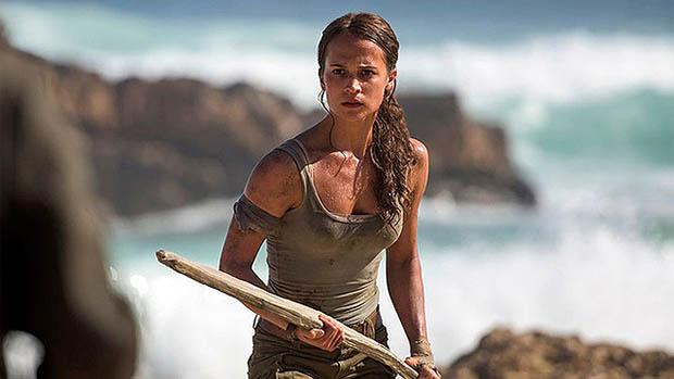 Alicia Vikander a Tomb Raider első hivatalos fotóin
