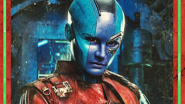 Karakterplakátokon A Galaxis őrzői 2 főszereplői