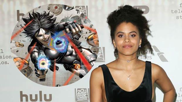 Zazie Beetz lesz Dominó a Deadpool 2-ben
