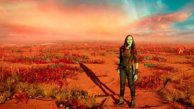 Egy rakat képanyag A Galaxis őrzői 2-höz