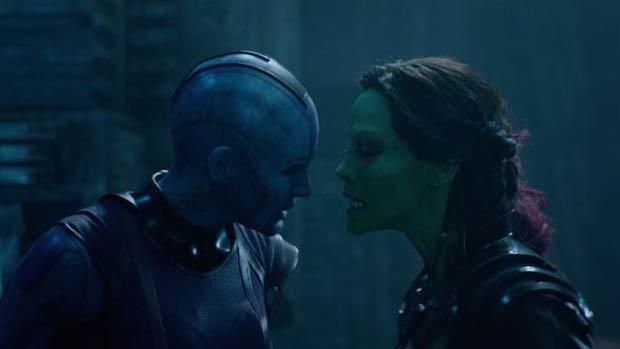 Gamora és Nebula a tévében + karakterplakátok