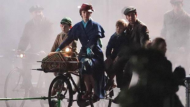 Új képek a Mary Poppins Returns forgatásáról
