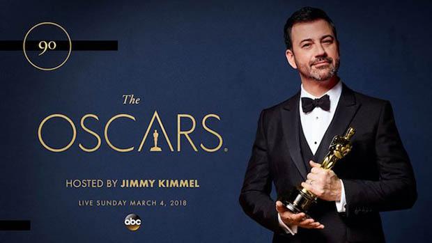 2018-ban is Jimmy Kimmel lesz az Oscar házigazdája