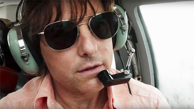 American Made előzetes és poszter Tom Cruise-zal