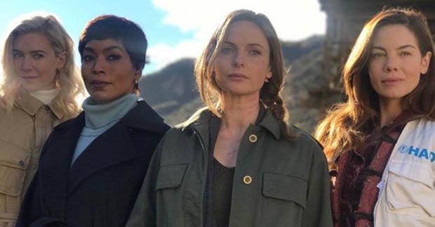 Csoportképen a Mission Impossible 6 női főszereplői