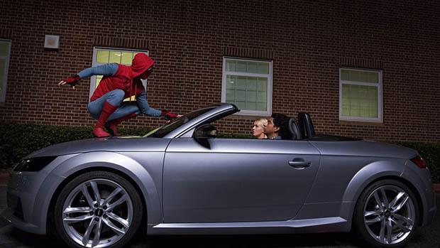 Peter Parkerrel debütál az új Audi A8