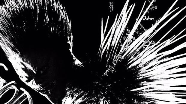 Ryuk is poszteren a Netflix Death Note-jából