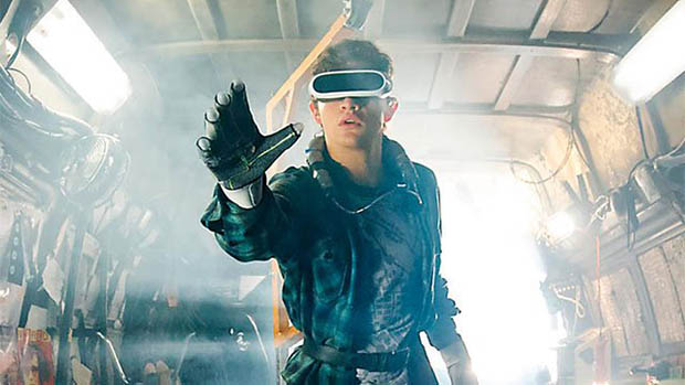 Tye Sheridan a Ready Player One első képén