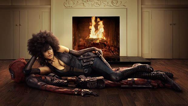 Zazie Beetz a Deadpool 2 első hivatalos képén