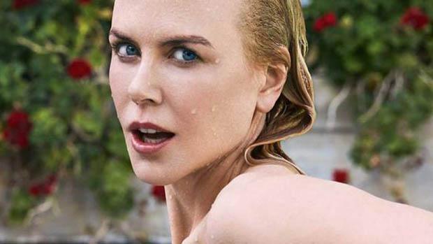 Az Aquaman sztárját, Nicole Kidmant vízbe küldték