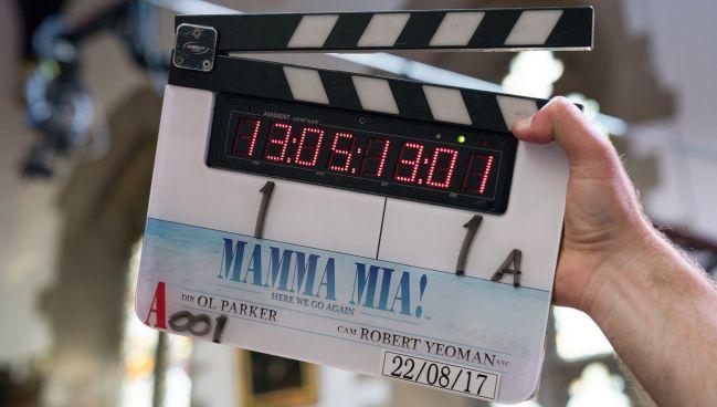 Forog a Mamma Mia 2