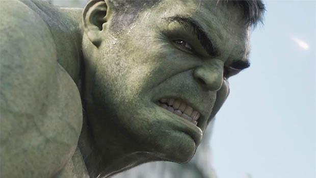 Hulk egy Renault reklámban tombol