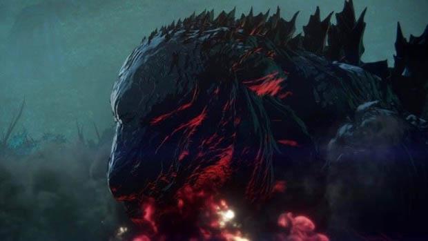 Itt az anime Godzilla előzetese