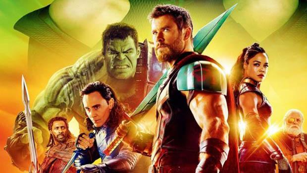 Thor: Ragnarök nemzetközi poszter is