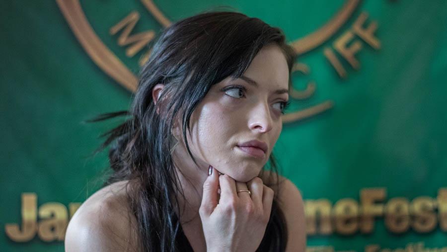 CineFest 2017: Francesca Eastwood interjú képsorozat