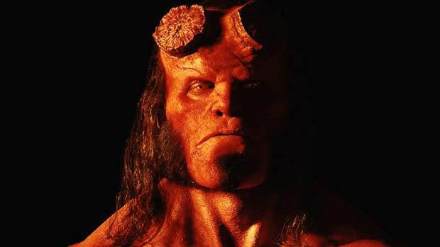 Hivatalos képen az új Hellboy