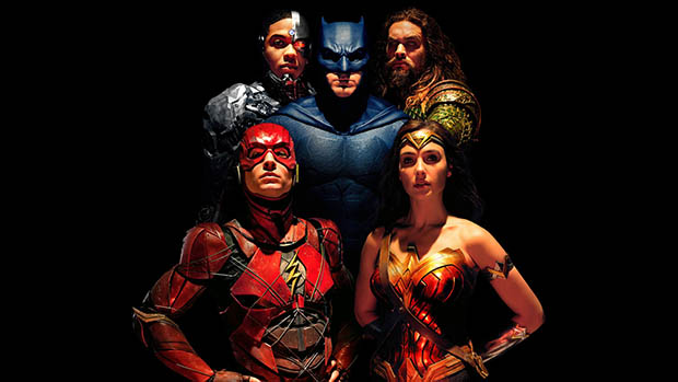 Justice League karakterportrék