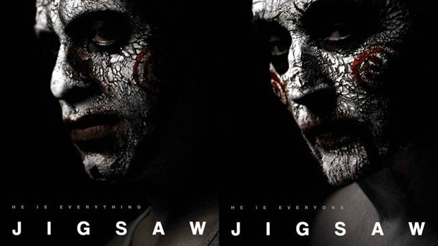 Új posztereken Jigsaw serege