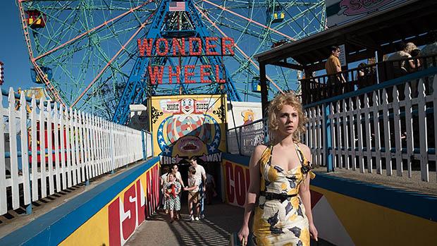 Wonder Wheel poszter, a rendező Woody Allen