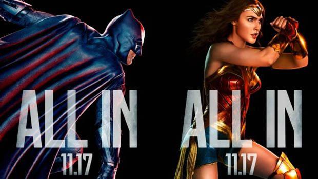 Justice League karakterplakátok + új előzetes hétvégén