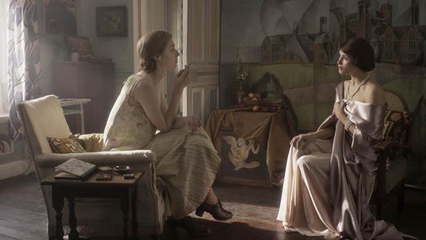 Gemma Arterton a Vita & Virginia betekintő fotóján