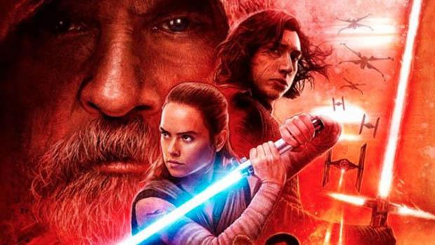 Vörös Star Wars 8 poszter
